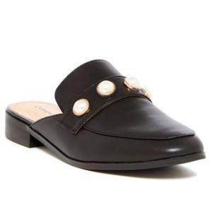 Catherine Malandrino Quentin Pearl Mules Size 7.5